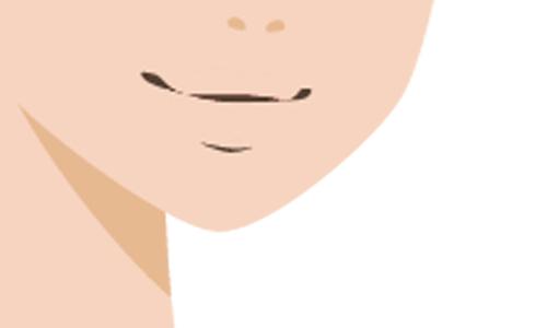 唇のイラスト