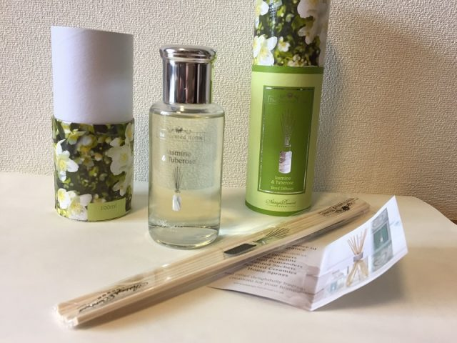FINCプレミアムのポイントで交換した香水の画像